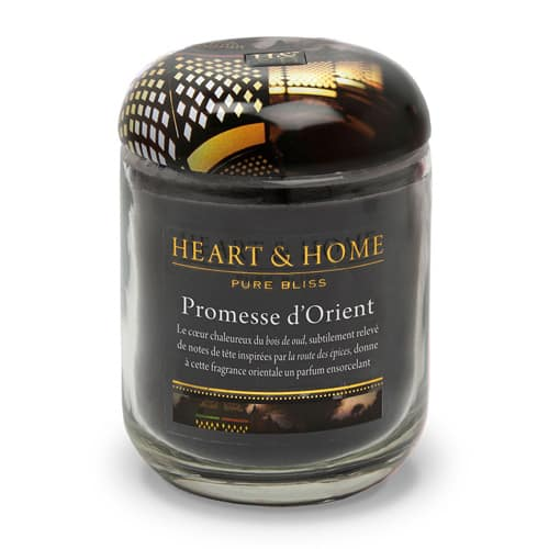 heart&home cire de soja - promesse d'orient