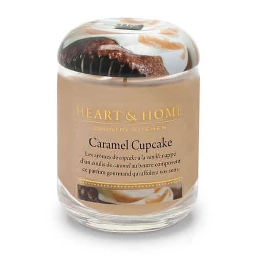 heart&home cire de soja - caramel cupcake