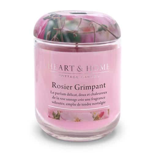 heart&home cire de soja - rosier grimpant
